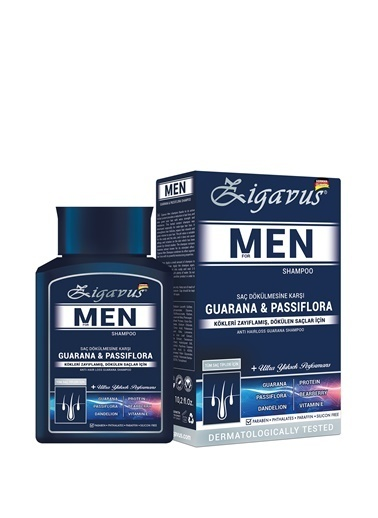 Zigavus Men Şampuan 300 Ml Renksiz